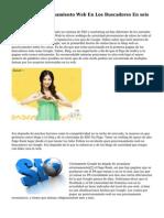 Mejora Tu Posicionamiento Web En Los Buscadores En seis Pasos