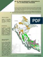 Poster Del Mapa de Macrounidades Ambientales
