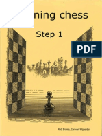 116024111 Learning Chess Step 1
