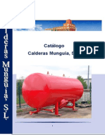 Catalogo Calderas Munguia