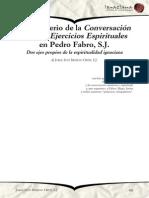 El Ministerio de La Conversión y de Los EE en Pedro Fabro, Jorge Iván Moreno Ortiz, SJ