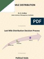 Last Mile Distribution