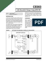 BLDC sinusoidal control