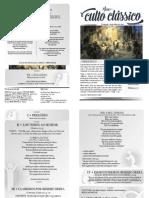 Boletim Culto Classico 05-07-2015
