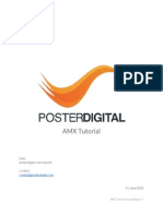 PosterDigital AMX Tutorial