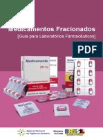 Medicamentos Fracionados - Guia para a Indústria