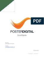 PosterDigital Guía rápida español