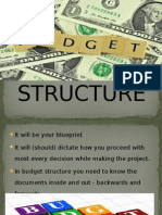 Ppt of Budget Structure