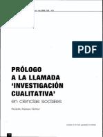 12. Investigación Cualitativa