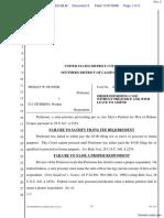 Hunter v. Tilton - Document No. 2