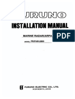 FURUNO FAR-FR2855 Installation Manual RDP115 Basic Diagrams