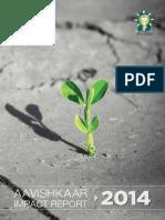 Aavishkaar Impact Report 2014-Final