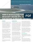 Escalation Clause Necessary Dealing With Price Fluctuations in Dredging Contracts Terra Et Aqua 125 1