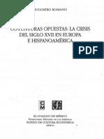 Coyunturas Opuestas. La Crisis Del Siglo XVII en Europa e Hispanoamérica [Ed. OCR]
