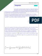 Gauss Quadrature Integration