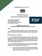 Kementerian Kewangan Surat Pekellllng Perbendaharaan Bil. 5