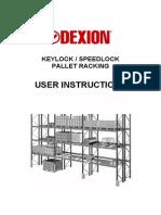 Dexion Pallet_Racking Manual