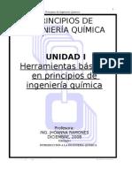UNIDAD I_INTRODUCCIÓN A LA ING. QUÍMICA