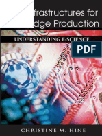 Christine Hine New Infrastructures for Knowledge Production- Understanding E-science