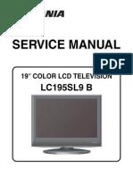 Sylvania Lc195sl9 b Lcd Tv