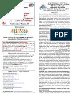 Boletim - 24 de Maio de 2015