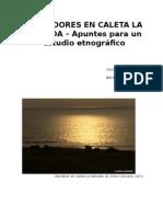 """Pescadores en Caleta """"La Ramada"""" – Apuntes para un estudio etnográfico"""