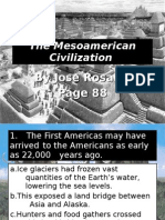 The Meso-American Civilization