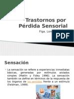 Trastornos  Sensorial
