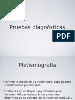 Pruebas diagnosticas de neumología