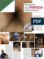 Riappare una fortezza sotterranea _ TORINO+storia+numero+zero_Il Pastiss