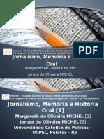 Jornalismo História Oral e Memória
