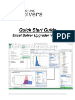 Excel Solver Upgrade Guide