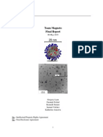 Final Report for CAD Nanoparticle Project