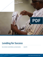 Lending for Success