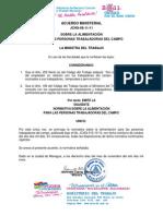 Acuerdo Ministerial 081111