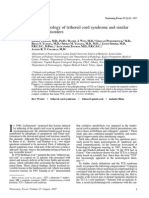 Pathophysiology of Tethered Cord Syndrome and Similar
