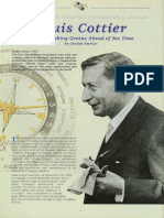 Louis Cottier - A Watchmaking Genius Ahead of His Time - By Osvaldo Patrizzi