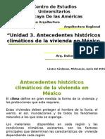 Antecedentes Historicos Climaticos de Mexico