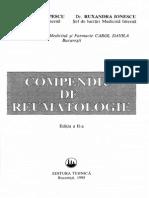 Compendiu de Reumatologie.R.Ionescu