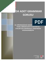 234 Adet Grammar Sorusu