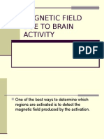 Magnetic Field Due to Brain Activity