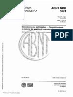 Nbr 5674 - Manutenção de Edificações