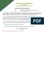 Anistia de Multas Eleitorais - L9996