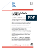 Social Skills for Adults with ADD