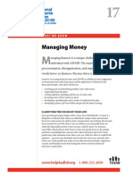 Managing Money