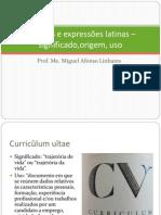 Palavras e expressões latinas