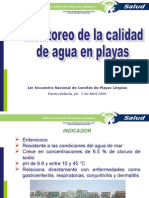 Monitoreo Calidad del Agua COFEPRIS.ppt