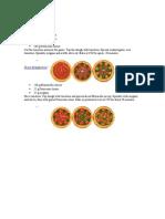Pizza Manual