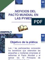 Beneficios Del Pacto Mundial