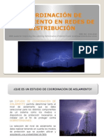 Coordinación de Aislamiento en Redes de Distribución